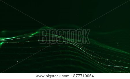 Technology Plexus Network Concept.