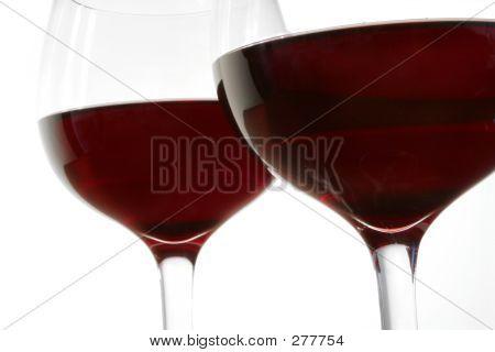 Red Wine Up Close