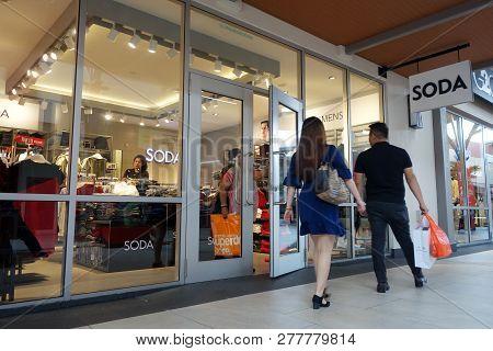 Genting Highlands, Malaysia- Dec 03, 2018: Soda Store In Genting Highlands, Malaysia.
