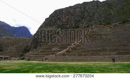 Beautiful Day At  Sacred Valley In Cuzco Region, Peru