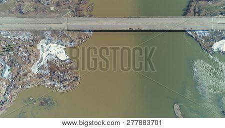 Landscape, Cityscape, Bridge, Bridges, Structures, River, Rivers, Roads, Drone, Quadcopter, Top View