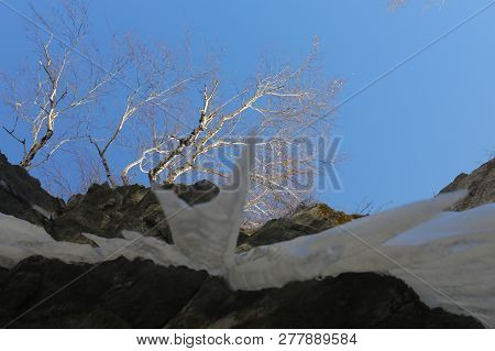 Beauty, Nature, Landscapes, Winter, Ice, Snow, Water, Icefall, Waterfall, Cold, Stream, River