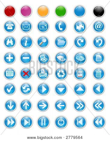 Icons und Buttons
