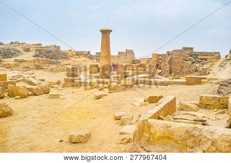 Archaeological Site Of Giza, Egypt