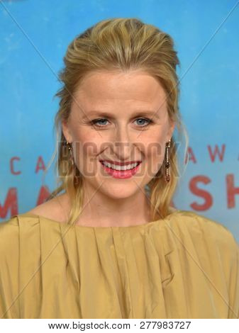 LOS ANGELES - JAN 10:  Mamie Gummer arrives to HBO's 'True Detective' Season 3 Premiere  on January 10, 2019 in Hollywood, CA