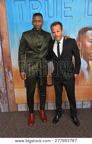 LOS ANGELES - JAN 10:  Mahershala Ali and Stephen Dorff arrives to HBO's 'True Detective' Season 3 Premiere  on January 10, 2019 in Hollywood, CA
