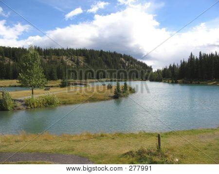 2nd Bridge, Cascade Pond  Banff National Park, Alberta, Canada
