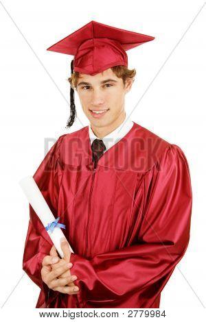 Handsome Grad