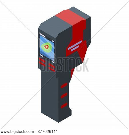 Thermal Imager Analysis Icon. Isometric Of Thermal Imager Analysis Vector Icon For Web Design Isolat