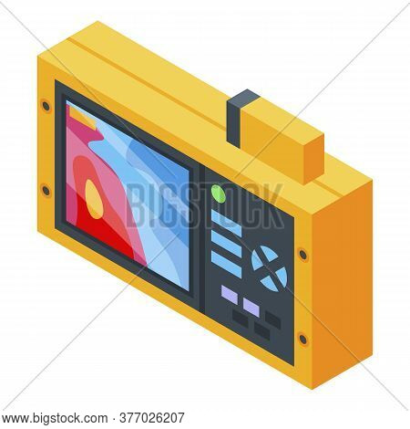 Digital Thermal Imager Icon. Isometric Of Digital Thermal Imager Vector Icon For Web Design Isolated