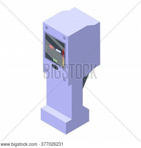 Electronic Thermal Imager Icon. Isometric Of Electronic Thermal Imager Vector Icon For Web Design Is