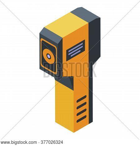 Sensor Thermal Imager Icon. Isometric Of Sensor Thermal Imager Vector Icon For Web Design Isolated O