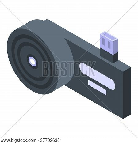 Infrared Thermal Imager Icon. Isometric Of Infrared Thermal Imager Vector Icon For Web Design Isolat