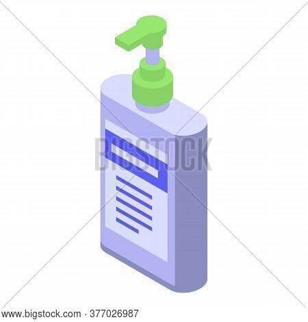 Medical Dispenser Antiseptic Icon. Isometric Of Medical Dispenser Antiseptic Vector Icon For Web Des
