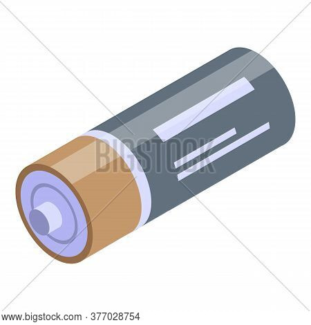 Device Battery Icon. Isometric Of Device Battery Vector Icon For Web Design Isolated On White Backgr