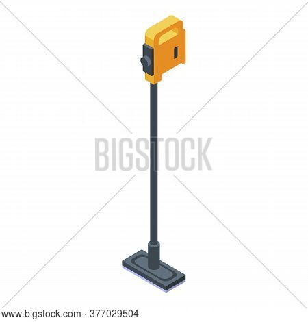 Steam Cleaner Appliance Icon. Isometric Of Steam Cleaner Appliance Vector Icon For Web Design Isolat