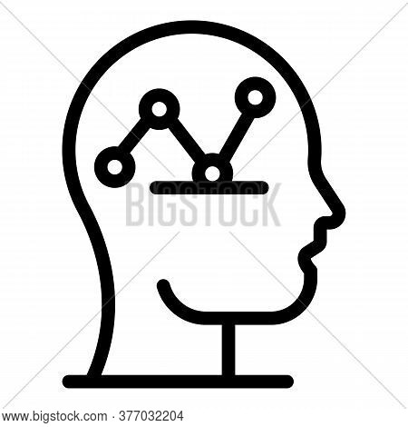 Scheme Crisis Mind Icon. Outline Scheme Crisis Mind Vector Icon For Web Design Isolated On White Bac