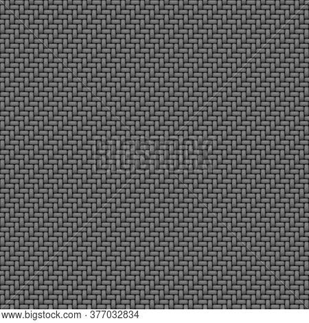 Gray fabric macro texture seamless pattern background
