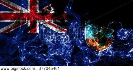 Montserrat Smoke Flag, British Overseas Territories, Britain Dependent Territory Flag
