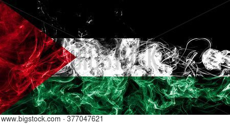 Palestine Smoke Flag, State National Smoke Flag