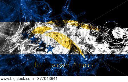 Johnston Atoll  Smoke Flag, United States Dependent Territory Flag