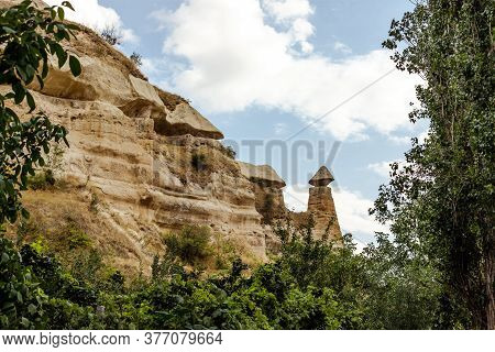 Earth Pyramids Of Cappadocia