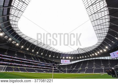 London, England - February 2, 2020: General View Of The New Tottenham Hotspur Stadium Pictured Prior