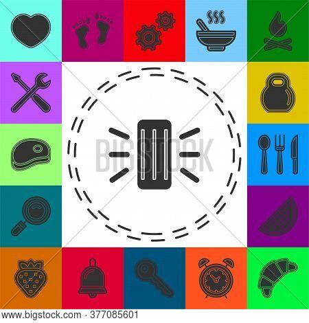 Smart Assistant Concept Line Icon. Simple Element Illustration. Smart Assistant Concept Outline Symb