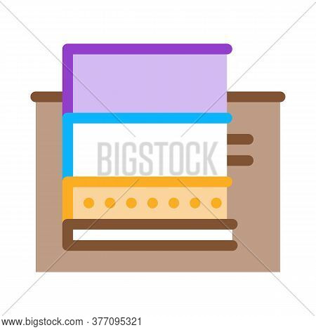 Floating Foundation Icon Vector. Floating Foundation Sign. Color Symbol Illustration