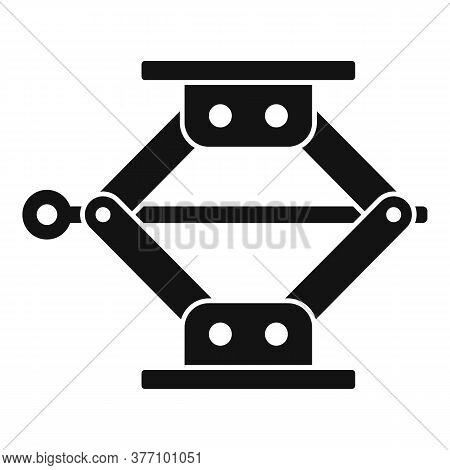 Jack Screw Icon. Simple Illustration Of Jack Screw Vector Icon For Web Design Isolated On White Back