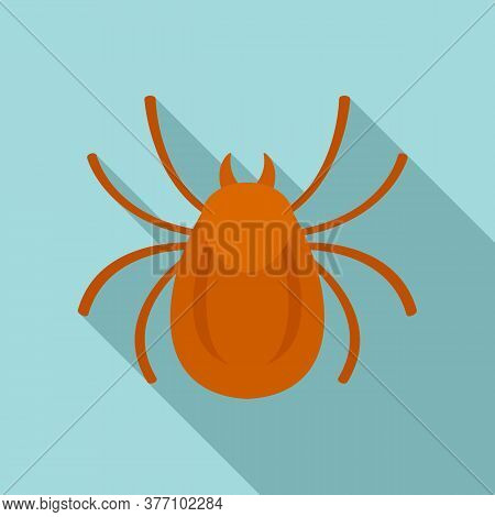 Forest Bug Icon. Flat Illustration Of Forest Bug Vector Icon For Web Design