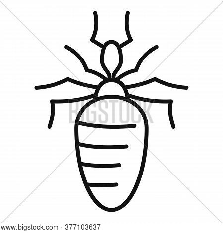 Insect Nature Bug Icon. Outline Insect Nature Bug Vector Icon For Web Design Isolated On White Backg