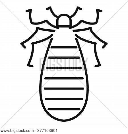 Pest Bug Icon. Outline Pest Bug Vector Icon For Web Design Isolated On White Background
