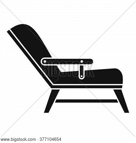 Hypnotherapy Armchair Icon. Simple Illustration Of Hypnotherapy Armchair Vector Icon For Web Design