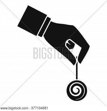 Hypnosis Pendulum Icon. Simple Illustration Of Hypnosis Pendulum Vector Icon For Web Design Isolated