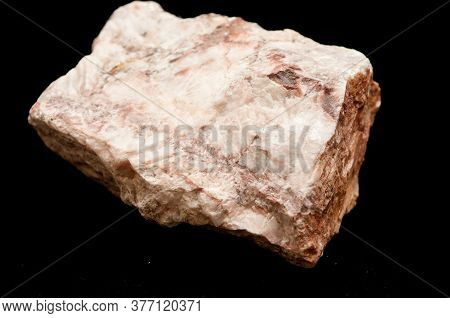 Rose Barite Mineral Sample Rough Cut From A Large Mineral