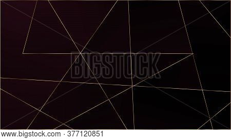Red Premium Triangular Texture. Elegant Dark Platinum Chic Shapes Banner Silver Rich Vip Geometric C