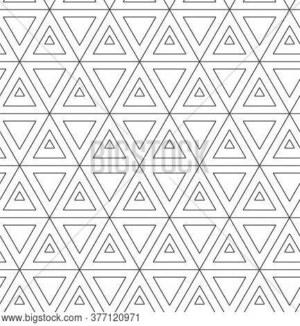 Repetitive Ornate Graphic Luxury, Lattice Texture. Repeat Modern Vector Poly Shapes Pattern. Seamles