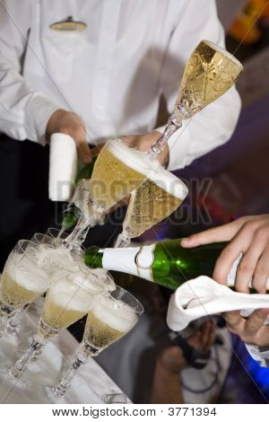 Champagne, Wedding, Restaurant