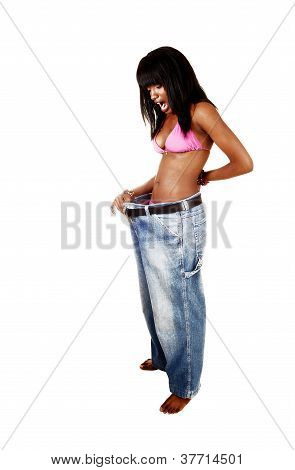 Girl Loosed Weight.