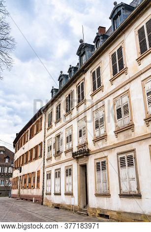 Traditional French Architecture In Barr - Bas-rhin, France