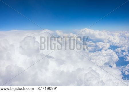 Powerful Cumulus Clouds In Unstable Stratification Of The Troposphere, Weather With Short-term Rains