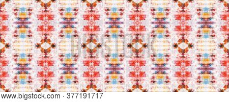 Paintbrush Python Background. Watercolor Ethnic Design. Ethnic Seamless Pattern. Fun Rectangle Ikat