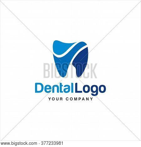 Dental Logo Design.creative Dentist Logo. Dental Clinic Creative Company Vector Logo.