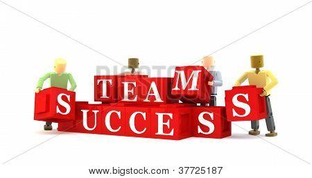 Team success blocks
