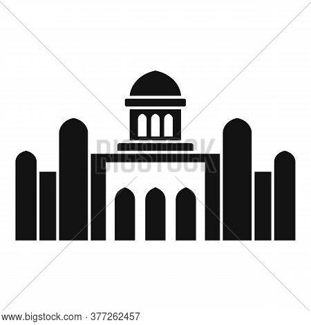Dubai Temple Icon. Simple Illustration Of Dubai Temple Vector Icon For Web Design Isolated On White