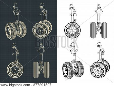 Aircraft Landing Gear Drawings