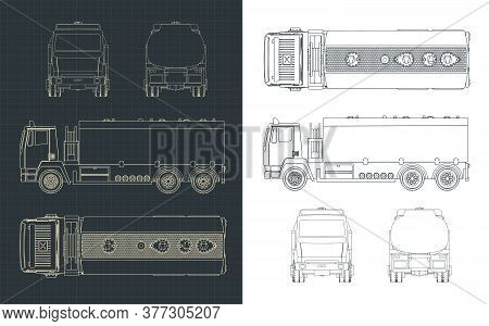 Fuel Truck Drawings