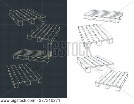 Pallets Illustration