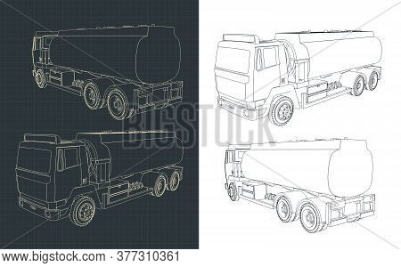 Refueler Truck Drawings